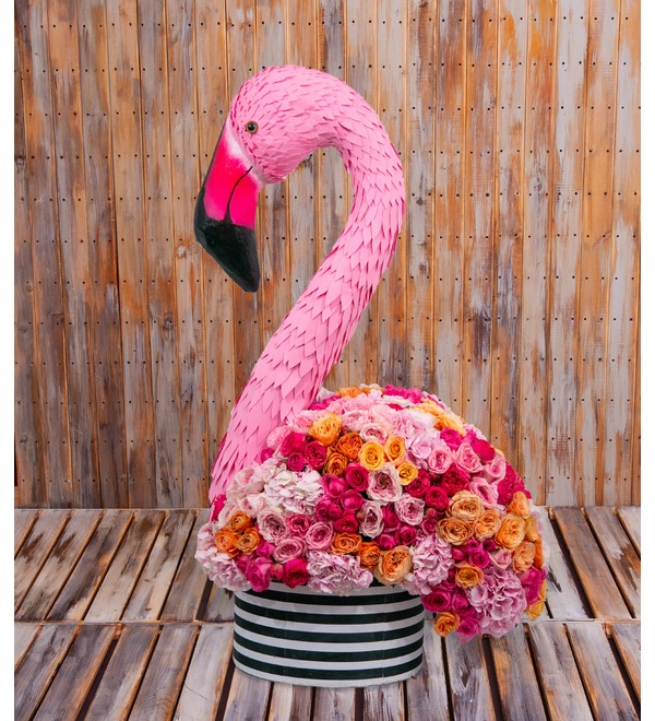 Composition Exotic Flamingo – photo #1