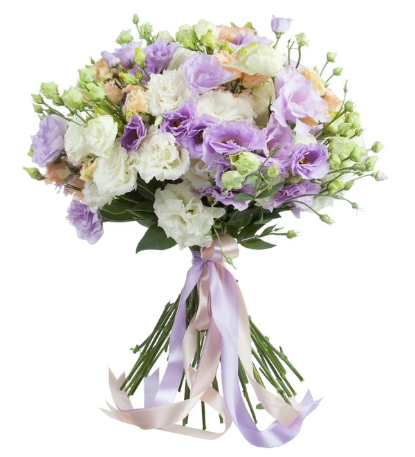 Bouquet of lisianthuses Summer Haze – photo #2