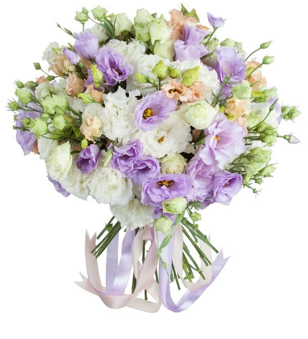 Bouquet of lisianthuses Summer Haze – photo #1
