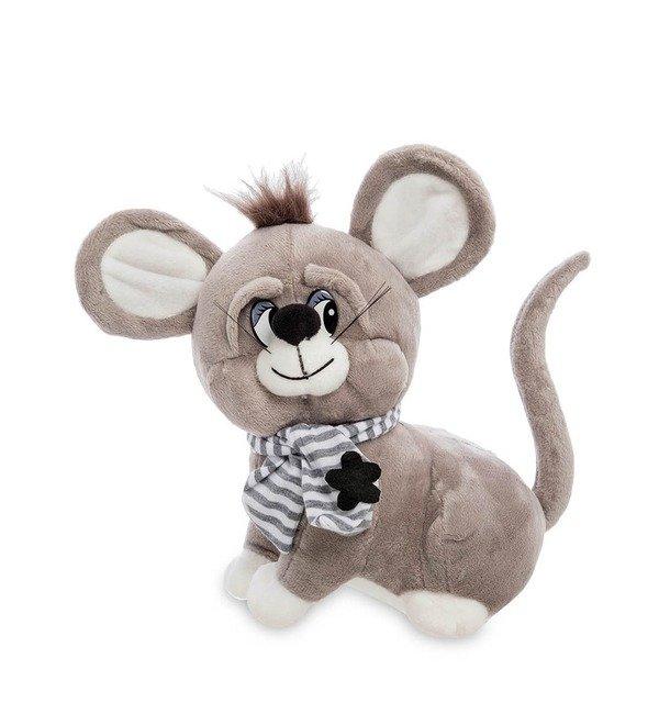 Мягкая игрушка Серенький мышонок – фото № 1