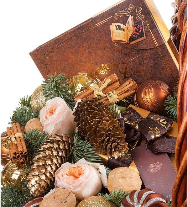Gift basket Cinnamon and Chocolate – photo #2