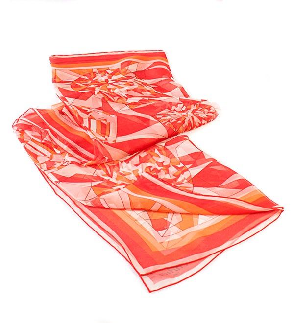 Шелковый платок Cartier (Франция, 80х80 см) – фото № 2