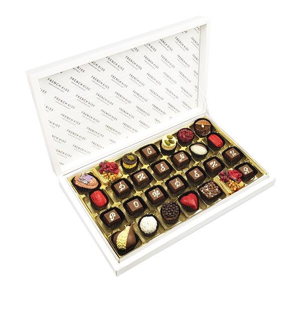 Конфеты ручной работы из бельгийского шоколада С Днем Рождения – фото № 1