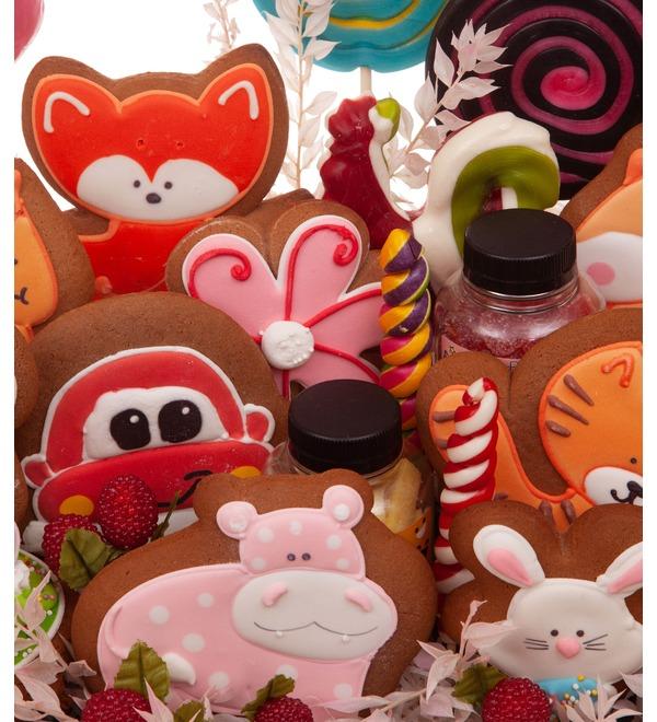 Подарочное кашпо Любимые сладости – фото № 2