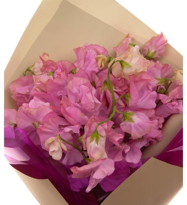 Букет-соло розовых латирусов (15,25,35 или 51) – фото № 3