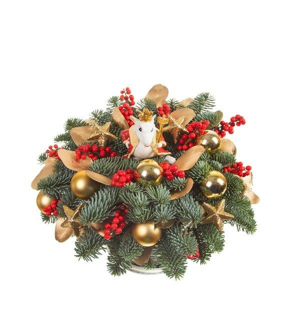 Подарочная коробка Важный мышонок – фото № 4