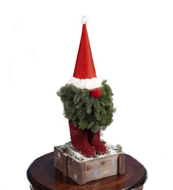 Композиция Рождественский гномик – фото № 4
