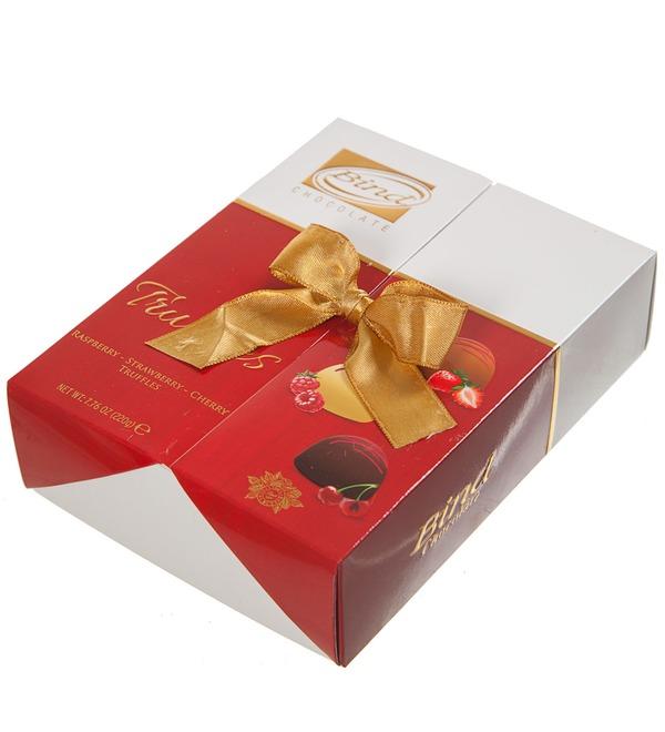 Набор шоколадных конфет Фруктовый сундучок – фото № 3
