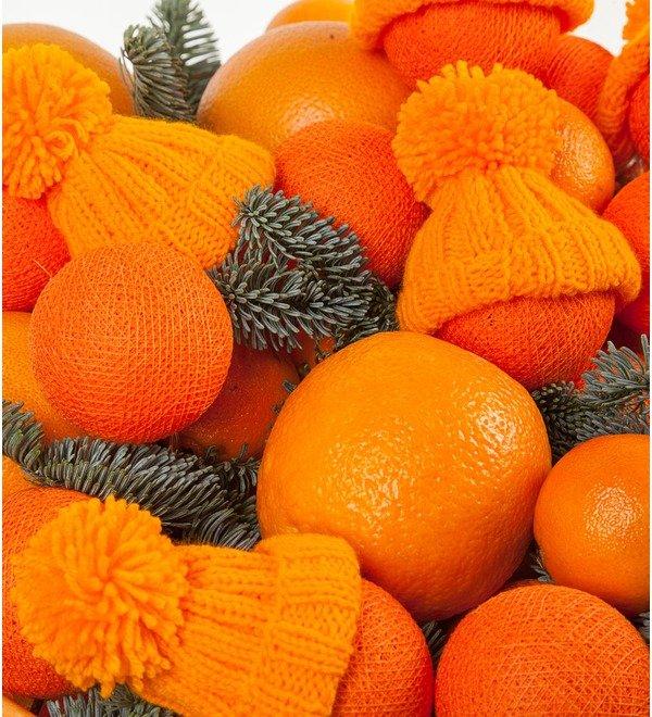 Подарочная корзина Оранжевое чудо – фото № 2