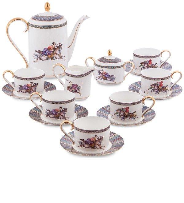 Чайный сервиз на 6 персон Восточное Поло (Pavone) – фото № 1