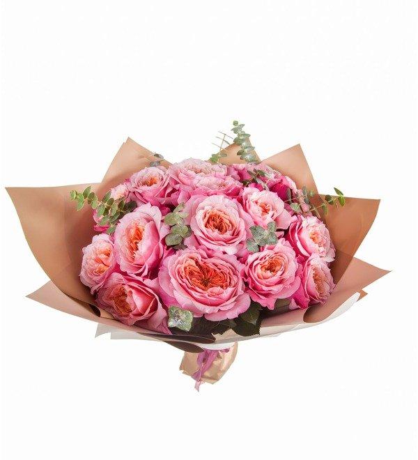 Букет Облако счастья (11, 15 или 19 роз) – фото № 5