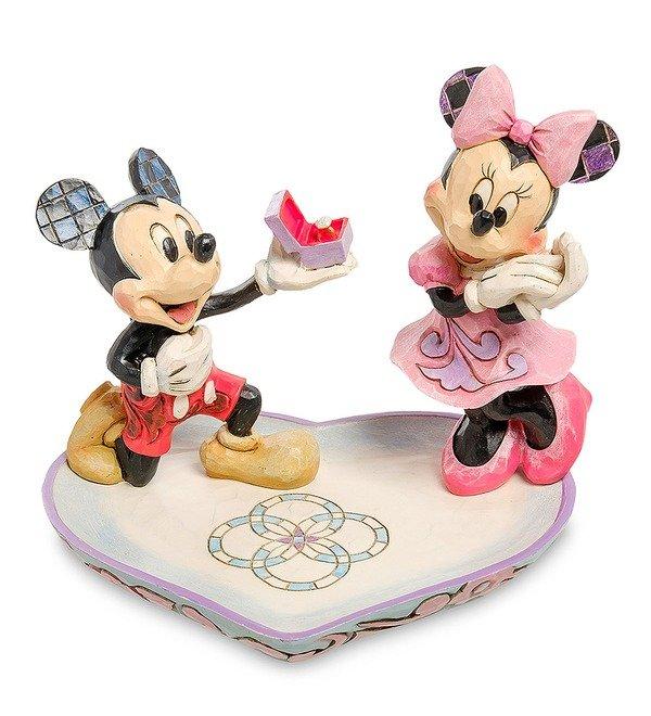 Фигурка Микки и Минни с кольцом (Disney) – фото № 1
