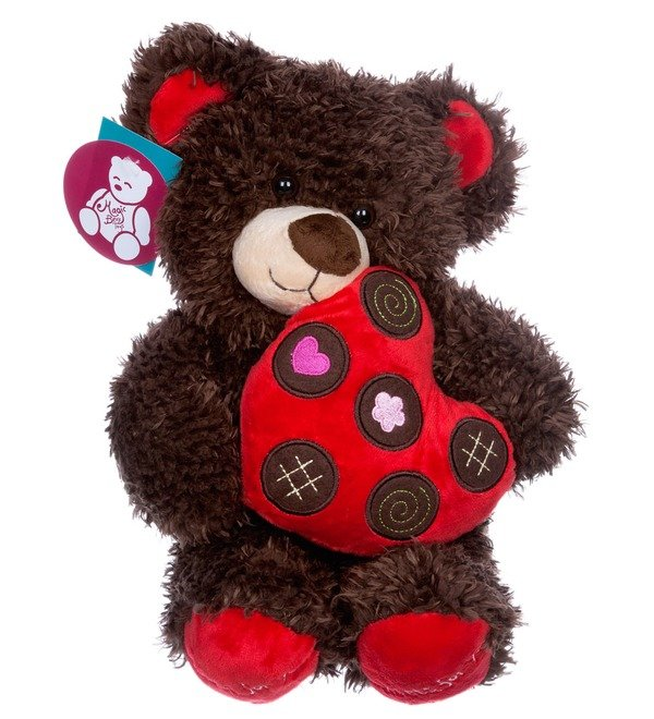 Toy Bear with heart (31 cm) – photo #5