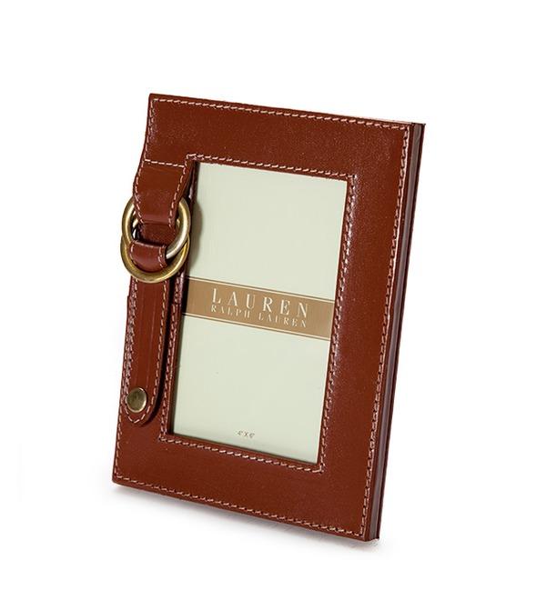 Рамка для фотографии из натуральной кожи Ralph Lauren (США) – фото № 1