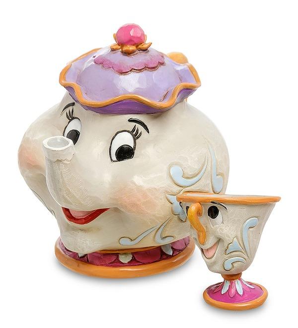 Фигурка Миссис Поттс и Чип. Материнская любовь (Disney) – фото № 1
