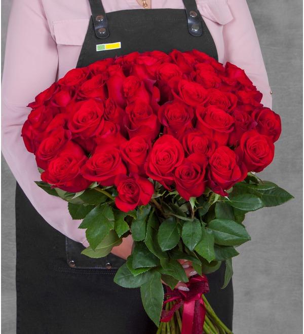 Bouquet of Ecuadorian Freedom Roses (25, 51, 75 or 101) – photo #1