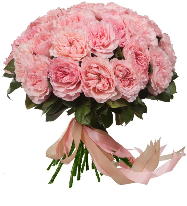 Bouquet of pion-shaped roses Mayras Rose (15, 25 or 51) – photo #2