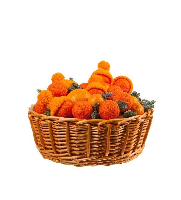 Подарочная корзина Оранжевое чудо – фото № 4