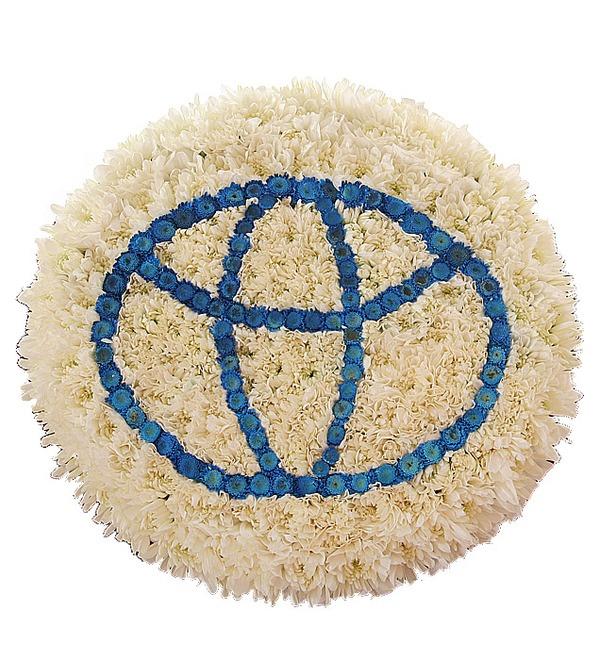 Цветочный логотип Тойота. Любой логотип на Ваш выбор! – фото № 4