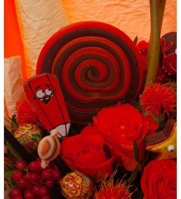 Продуктовый букет Красный- прекрасный! – фото № 3