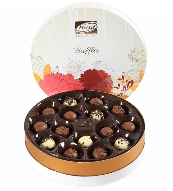 Набор шоколадных конфет Трюфель, 200гр – фото № 1