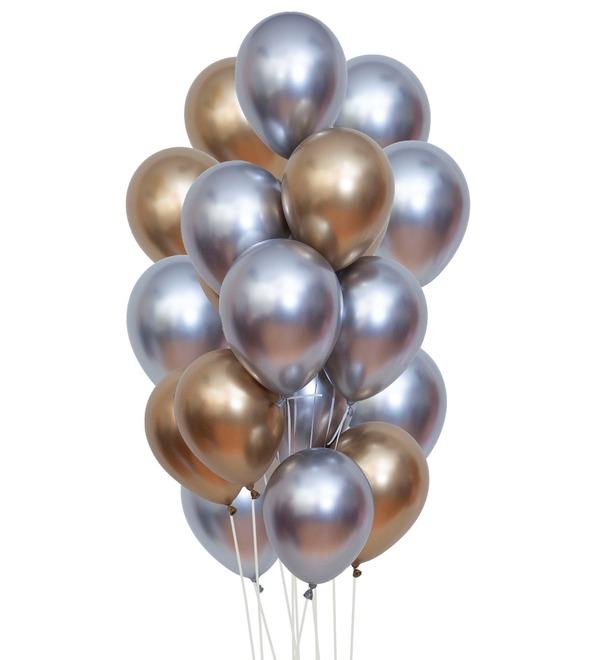 Букет шаров Искренние пожелания (25 или 51 шар) – фото № 1