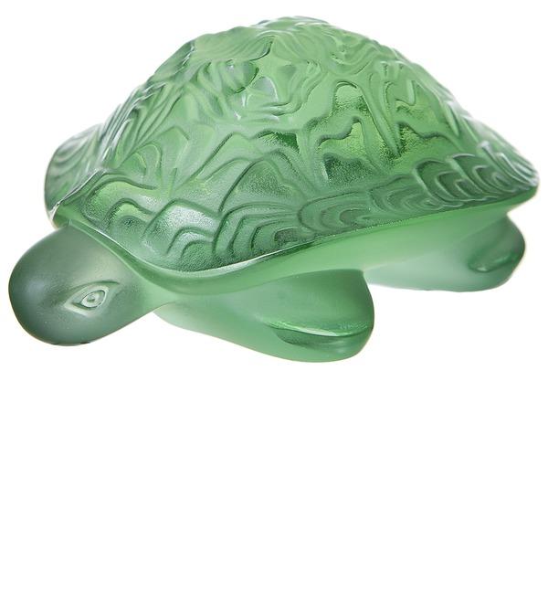 Хрустальная статуэтка Черепаха (LALIQUE, Франция) – фото № 1