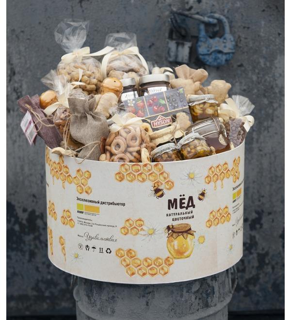 Подарочная коробка Бочонок с медом – фото № 1