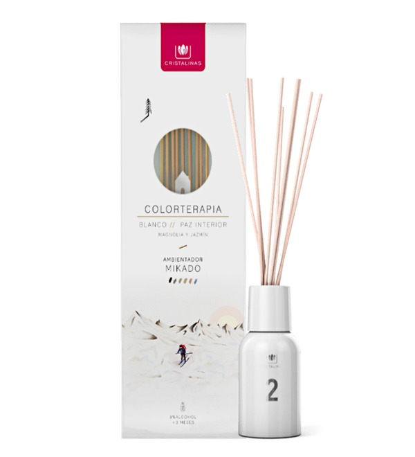 Aroma diffuser for living rooms with the scent of magnolia and jasmine 125ml. – photo #1