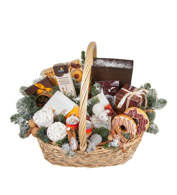 Подарочная корзина Сладкий праздник – фото № 5