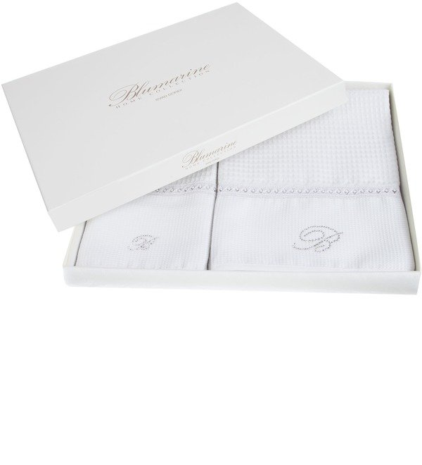 Set of 2 towels Blumarine – photo #1