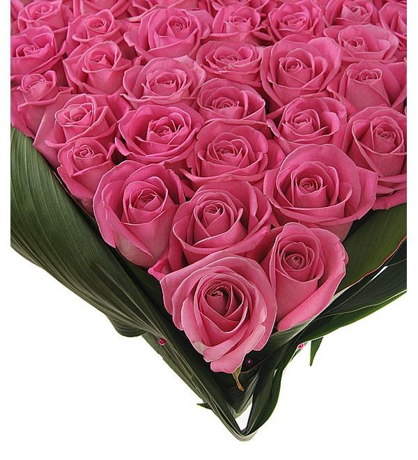 Композиция из роз Яркая любовь – фото № 5