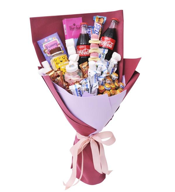Продуктовый букет сладостей Сластена – фото № 4