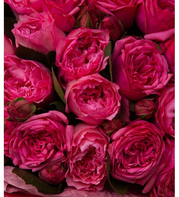 Букет-дуэт пионовидных роз Высокая нота (15,25,35,51,75 или 101) – фото № 2