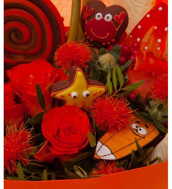 Продуктовый букет Красный- прекрасный! – фото № 2
