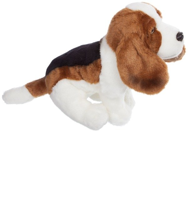 Soft toy Basset Hound Dog (30 cm) – photo #2