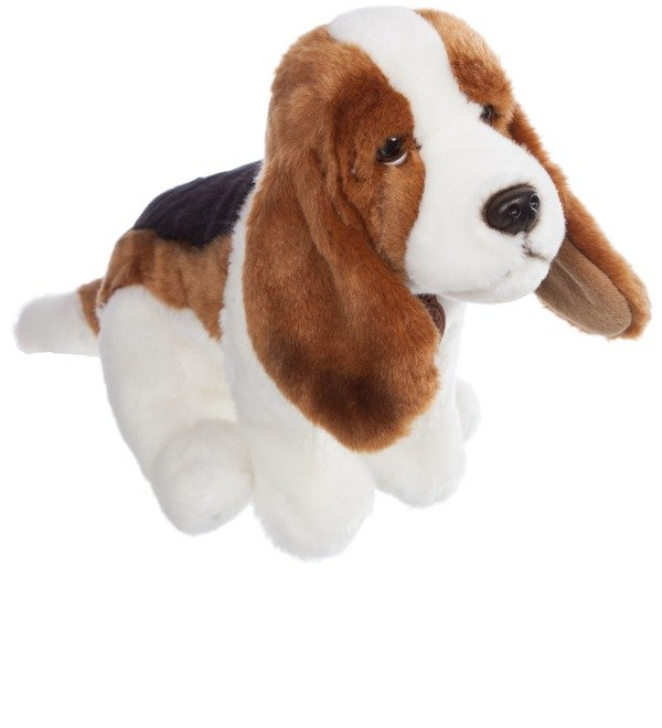 Soft toy Basset Hound Dog (30 cm) – photo #1