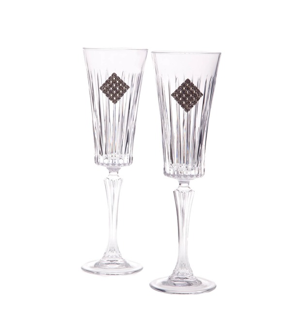 Набор из 2-х бокалов для шампанского Regina Rombo – фото № 2