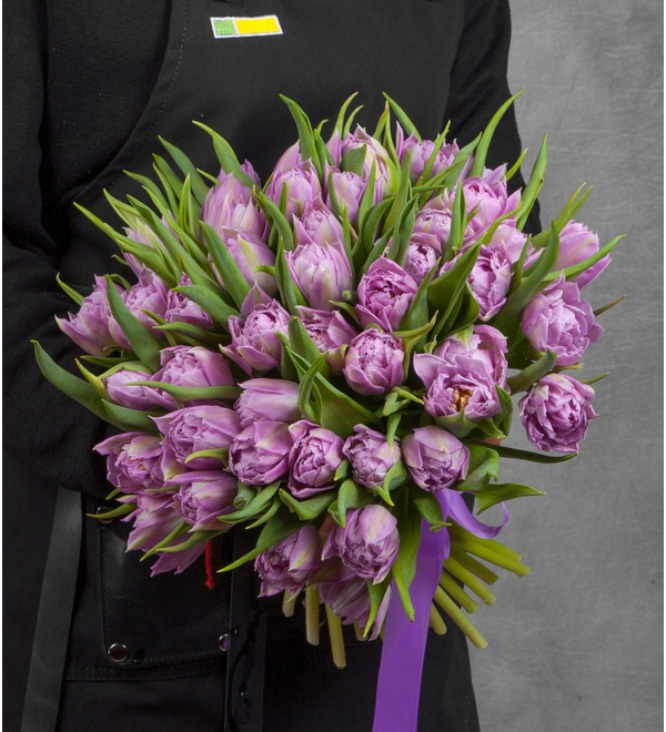 Bouquet of Double Price peony tulips (25, 51 or 101) – photo #1
