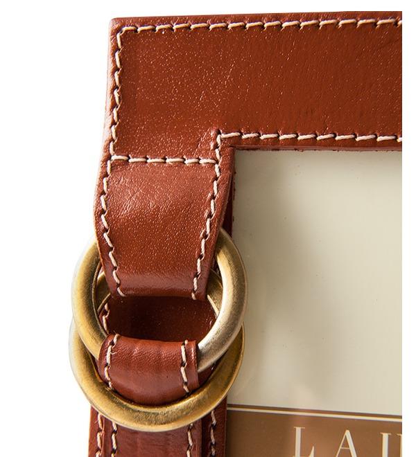 Рамка для фотографии из натуральной кожи Ralph Lauren (США) – фото № 2