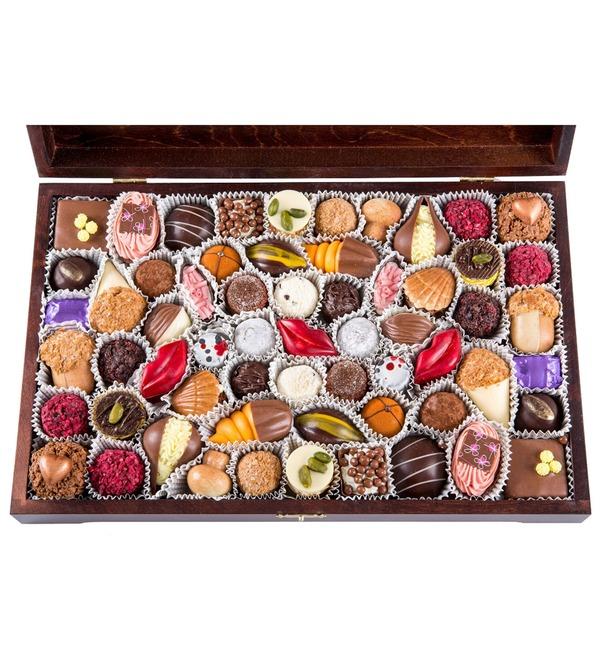 Конфеты ручной работы из бельгийского шоколада Миллениум – фото № 2