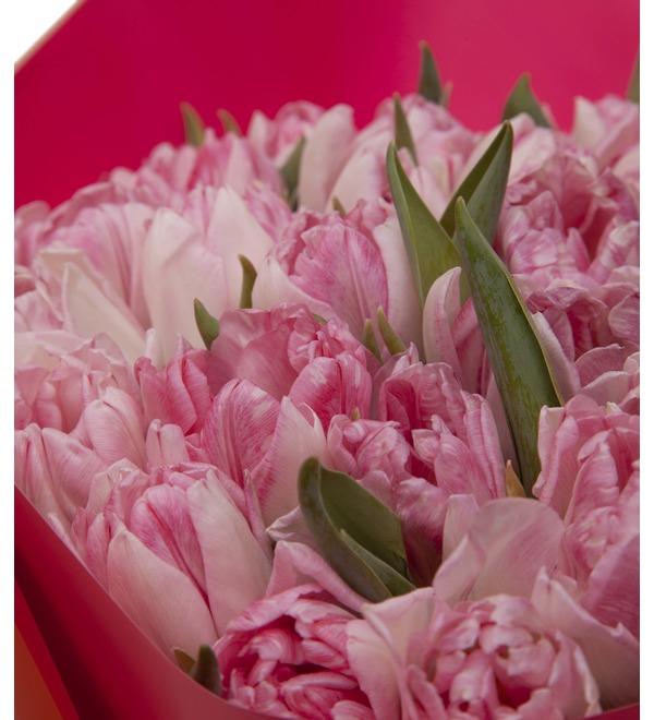 Букет-соло тюльпанов Foxtrot (15,25,35,51,75,101 или 151) – фото № 2