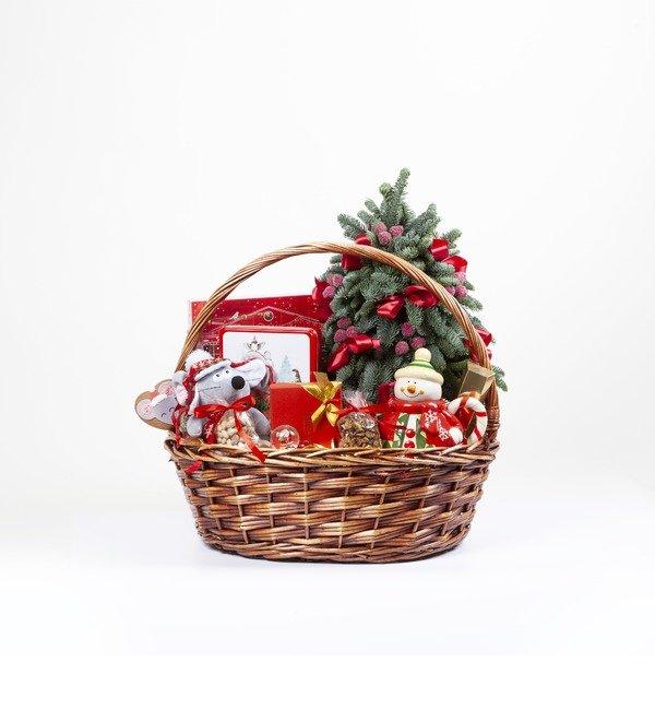 Подарочная корзина Подарки под ёлкой – фото № 4