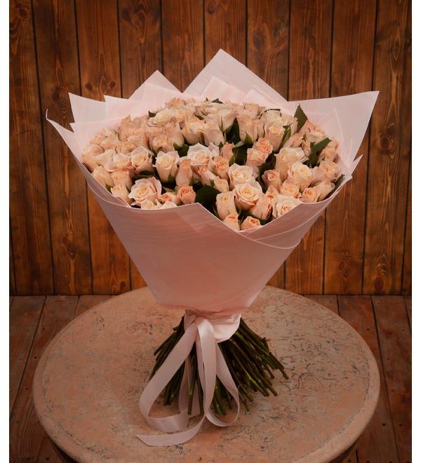 Букет-соло роз Medeo (15,25,35,51,75 или 101) – фото № 1