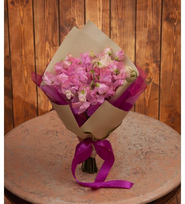 Букет-соло розовых латирусов (15,25,35 или 51) – фото № 1