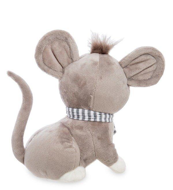 Мягкая игрушка Серенький мышонок – фото № 2