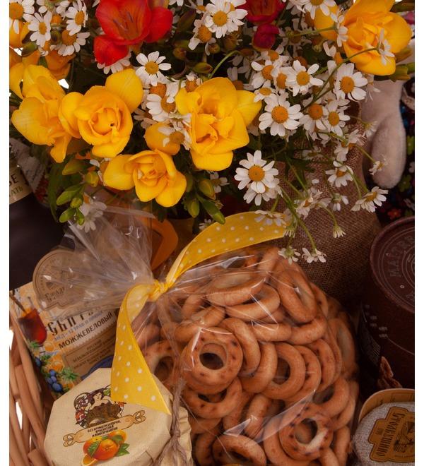 Подарочная корзина Чай с мёдом – фото № 2